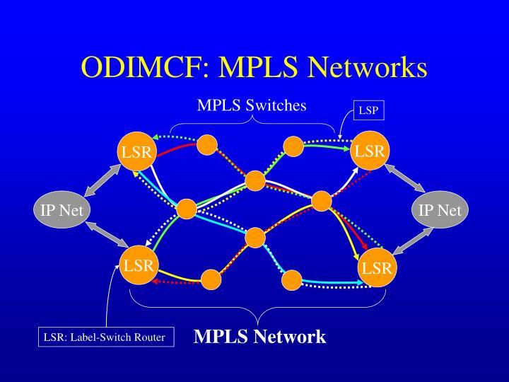 ODIMCF: MPLS Networks