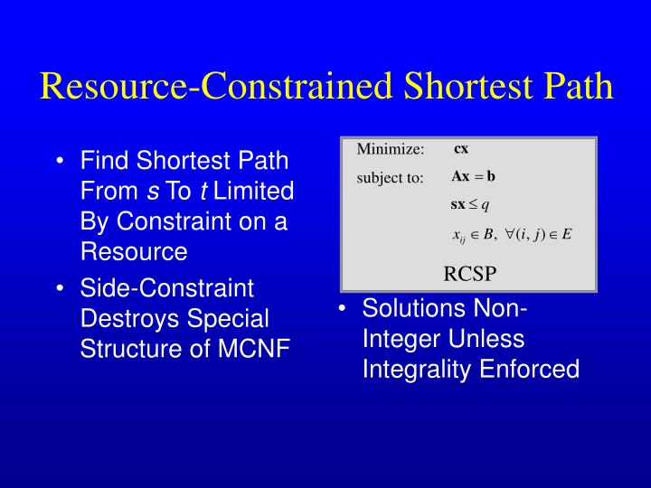 Find Shortest Path From