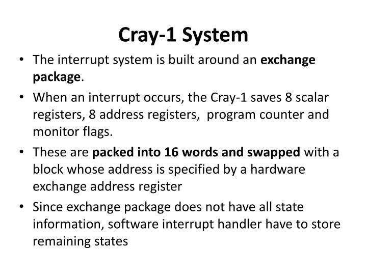 Cray-1 System