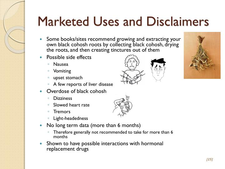 Marketed Uses and Disclaimers