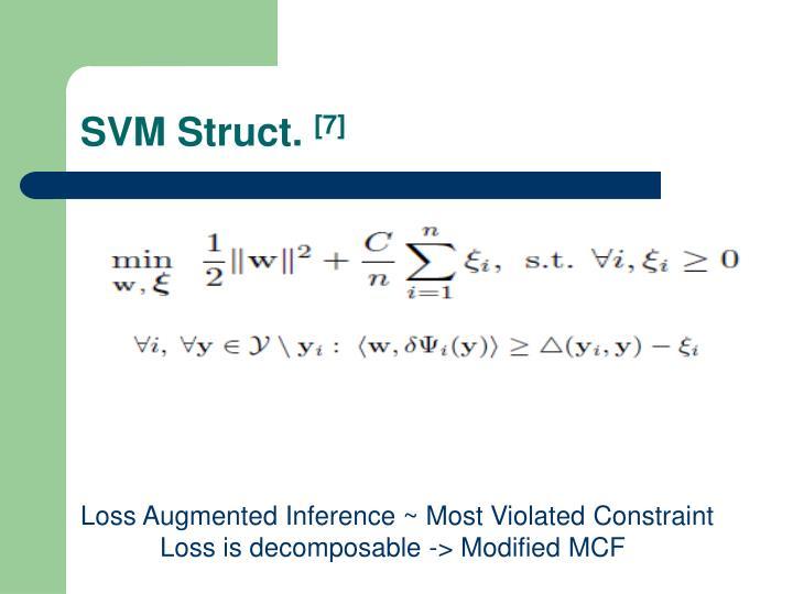 SVM Struct.