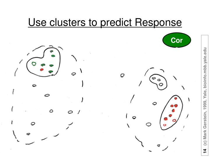 Use clusters to predict Response
