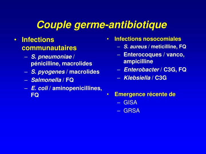 Infections communautaires