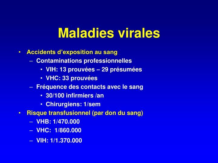 Maladies virales