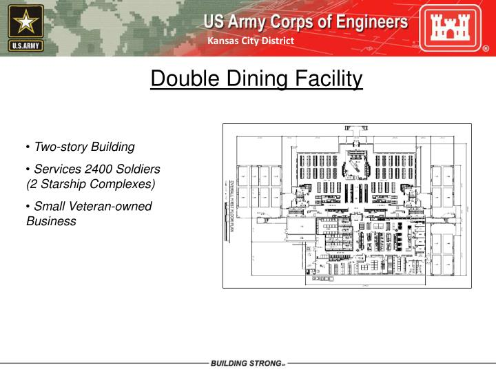 Double Dining Facility