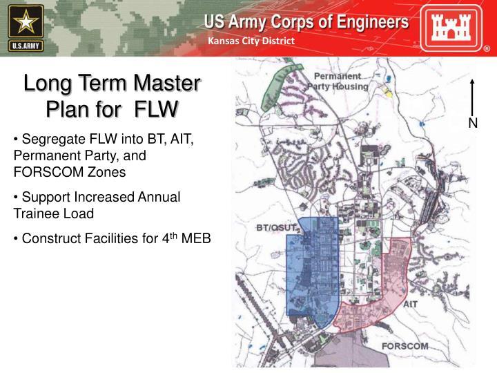 Long Term Master Plan for  FLW