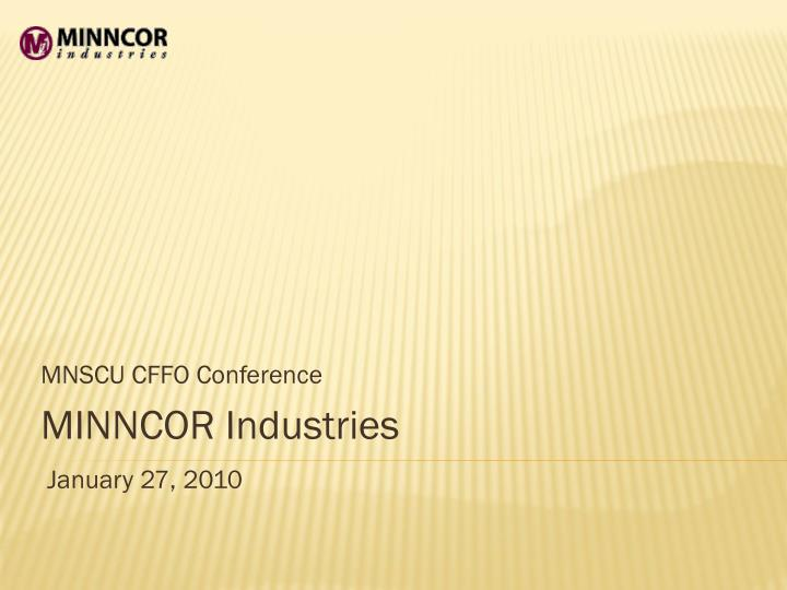 MNSCU CFFO Conference