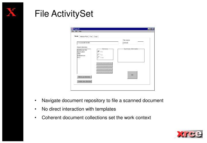 File ActivitySet