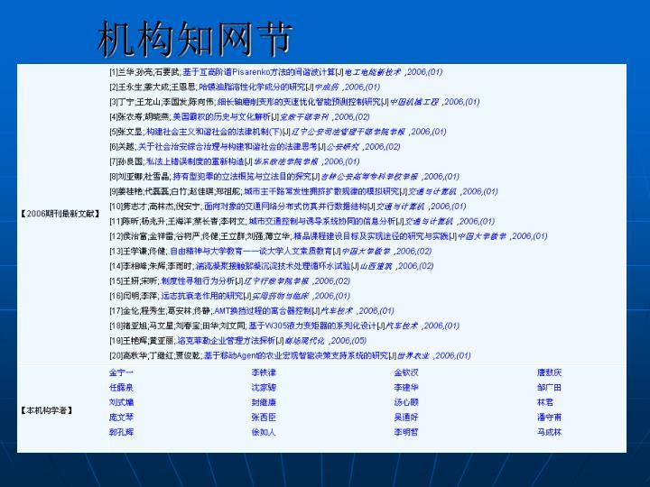 机构知网节
