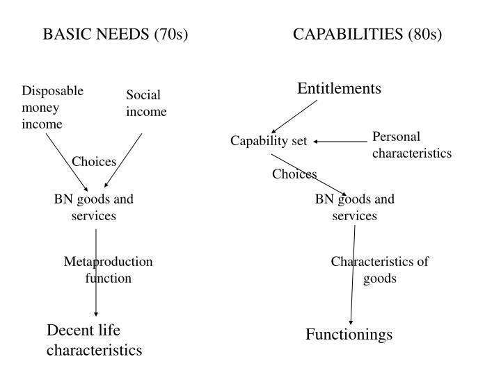 BASIC NEEDS (70s)