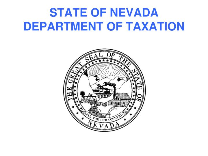 state of nevada department of taxation