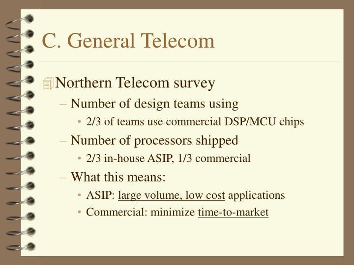 C. General Telecom