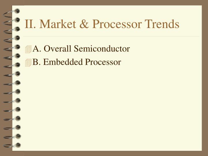 II. Market & Processor Trends