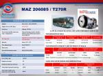 maz 206085 t270r