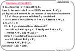 equivalence of p and eu p