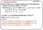simultaneous derivation