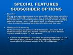special features subscriber options2