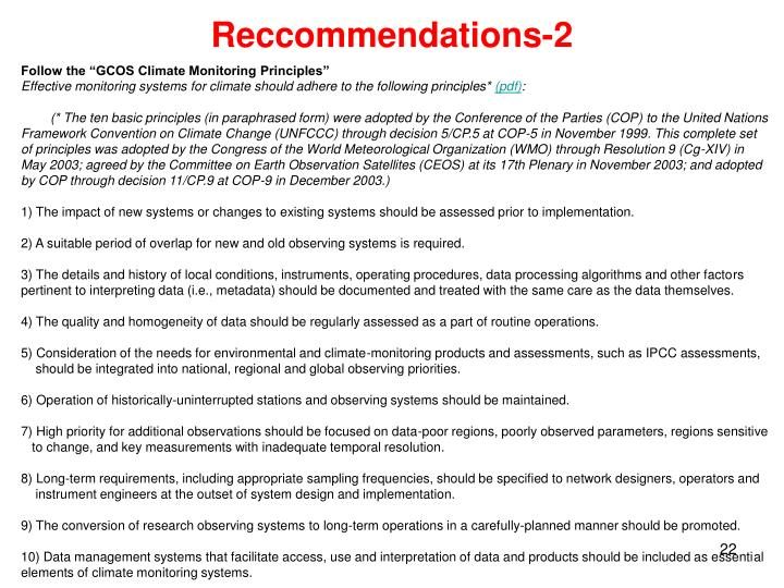 Reccommendations-2
