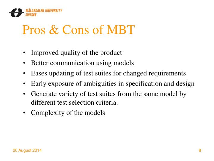Pros & Cons of MBT