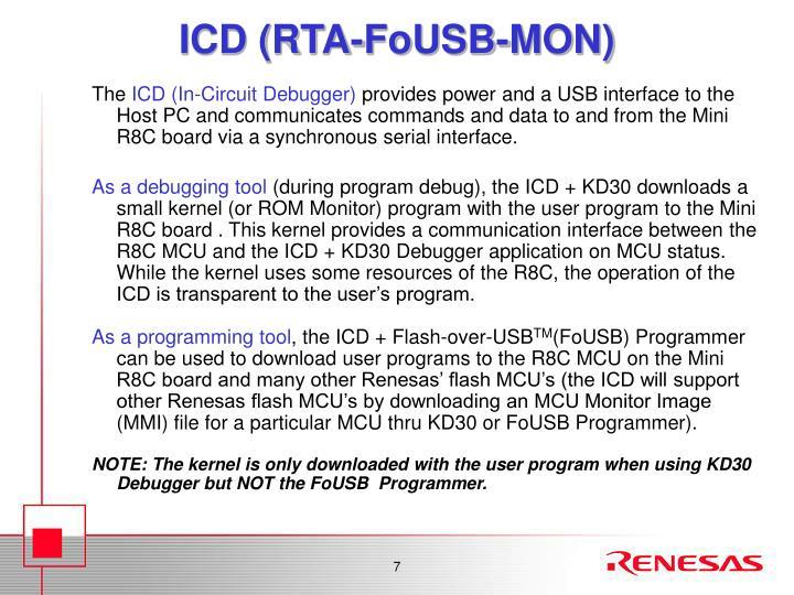 ICD (RTA-FoUSB-MON)