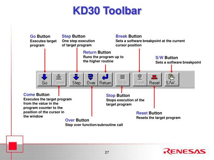 KD30 Toolbar