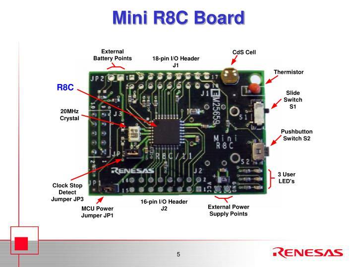 Mini R8C Board