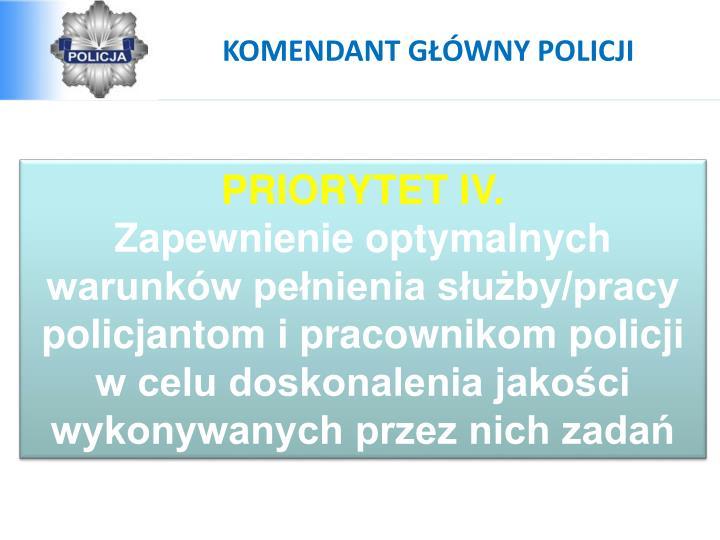 KOMENDANT GŁÓWNY POLICJI