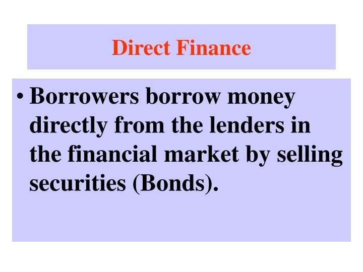 Direct Finance
