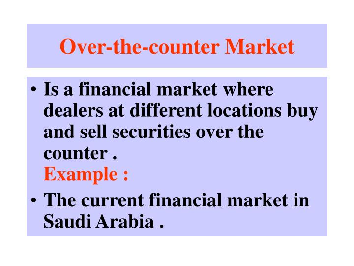 Over-the-counter Market