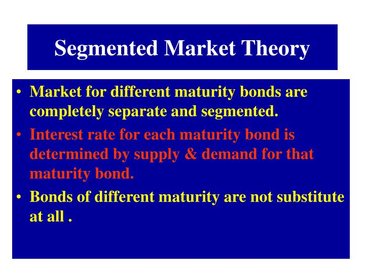 Segmented Market Theory