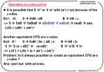 elimination of e rules cont d