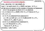 equivalence of p and eu p skipped