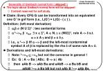 generality of greibach normal form skipped