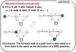 motivation derivation and path walk