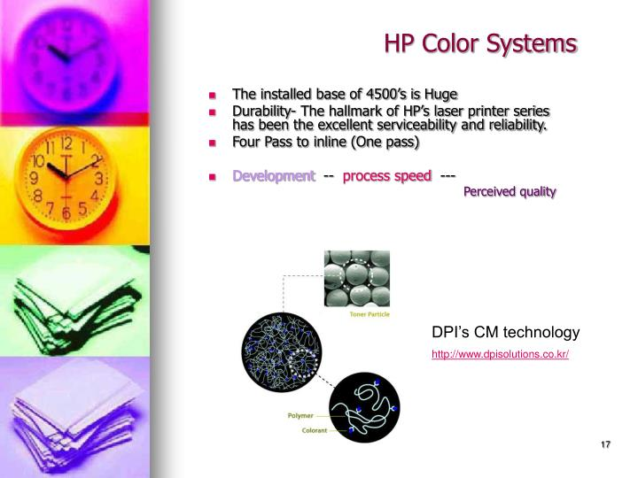 HP Color Systems