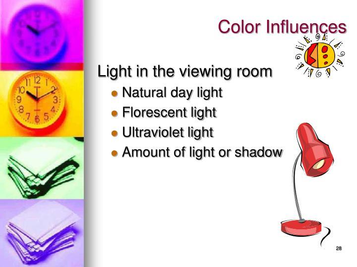 Color Influences