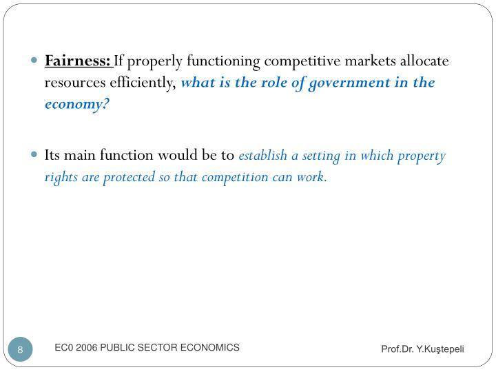 Fairness: