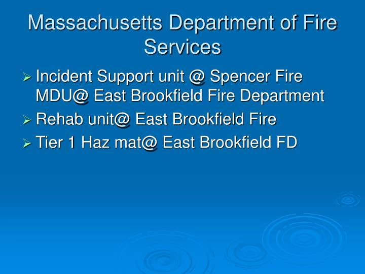 Massachusetts Department of Fire Services