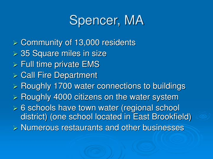 Spencer, MA