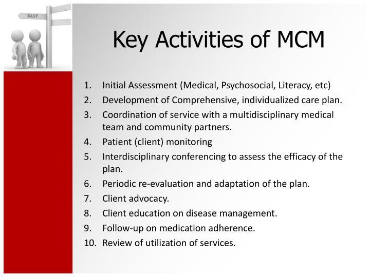 Initial Assessment (Medical, Psychosocial, Literacy, etc)