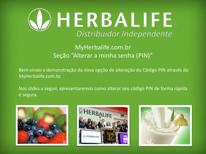 MyHerbalife.com.br
