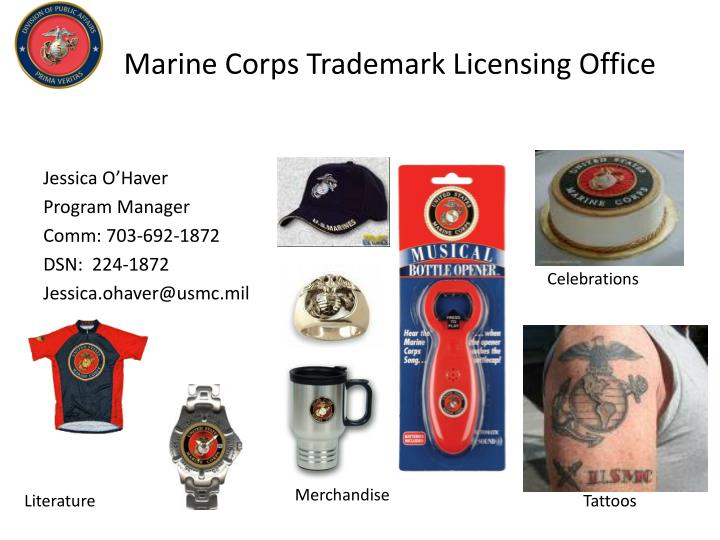 Marine Corps Trademark Licensing Office