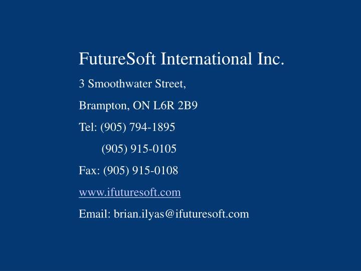 FutureSoft International Inc.