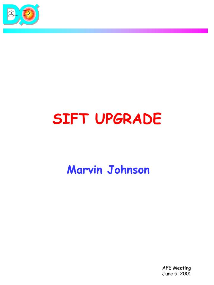 sift upgrade