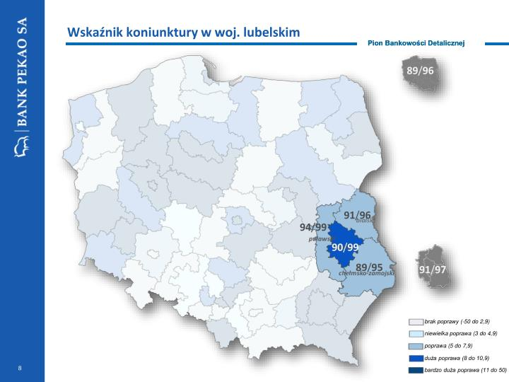 Wskaźnik koniunktury w woj. lubelskim