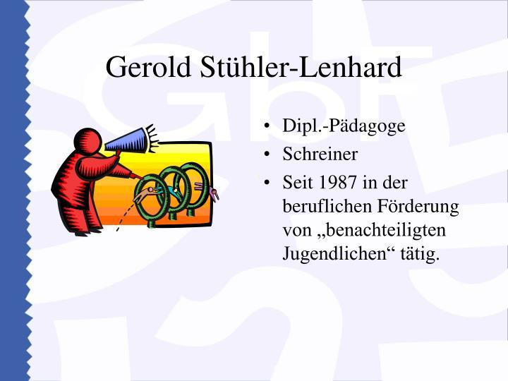 Gerold Stühler-Lenhard