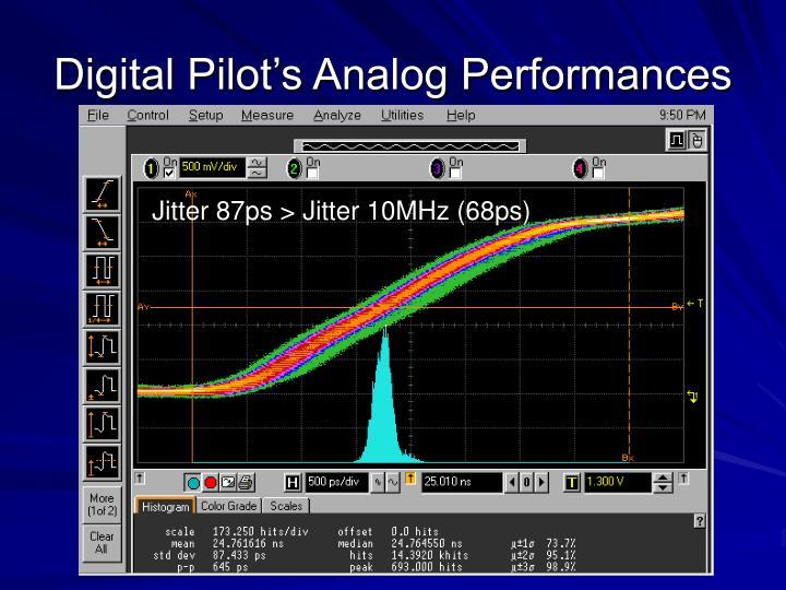 Digital Pilot's Analog Performances
