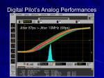 digital pilot s analog performances