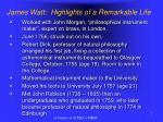 james watt highlights of a remarkable life1