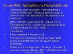james watt highlights of a remarkable life4